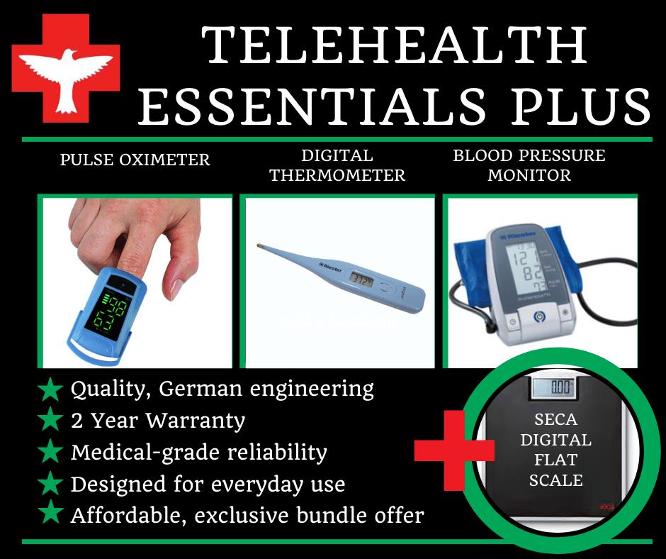 Telehealth Essentials PLUS kit